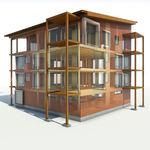 Baustellen-Management-Software / Projektverwaltung / für Holzkonstruktion / 3D BIM Metsäwood
