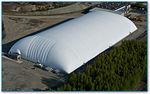 Membran-Architektur / aus Fluorpolymer / für Traglufthallen / feuerfest TEDLAR® Shelter-Rite