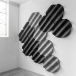 Stoff-Akustikplatte / Wand ONDE by Perrine Vigeron De Vorm