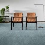 Fliesen-Teppichboden / Tuft / Schlingen / Synthetik