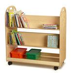 Mobiles Regal / modern / Holz / für Kindergarten TRUCK Jonti-Craft, Inc.