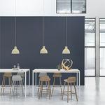 Stehtisch / Skandinavisches Design / Holz / Aluminium / rechteckig