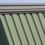 profiliertes Blech / Stahl / Dach / für Wände