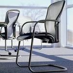 Stuhl für Büro / Besucher / modern / aus Metall AERON by Bill Stumpf & Don Chadwick Herman Miller