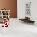 Modern Polster§bank / aus Stahl / Textil / Modul TUXEDO by Bassam Fellows Herman Miller
