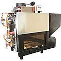 Holz-Feuerstelle / für Kamime / für Feuerstellen für wasserführende Kamine / aus Holz - TERMOCOMPACT KIT IDRO