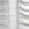 Gardinenstoff / Streifenmuster / Polyester / Wolle