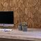Holzverblender / Innenraum / strukturiert / 3D