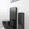 bodenstehender Toilettenpapierhalter / Metall / aus Granit