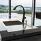 moderne Küche / Holz / aus Marmor / aus Naturstein