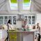 "Projektions-Dachfenster / Holz / aus Aluminium / Doppelverglasung SOLAR POWERED  ""FRESH AIR""  VELUX"