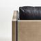 moderner Sessel / Stoff / Leder / von Jean-Marie Massaud