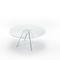 Moderne Esstisch / Glas / rechteckig / rund ALISTER   GLAS ITALIA