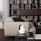 modernes Sofa / Stoff / Metall / von Mauro Lipparini