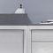Aufsatzwaschbecken / rechteckig / Mineralwerkstoff / modern