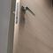 Innenbereich-Tür / einflügelig / Aluminium / Laminat