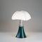 Tischlampe / originelles Design / lackiertes Aluminium / aus Methacrylat
