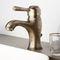 Einhebelmischer für Waschtisch / Metall / für Badezimmer / 1-Loch