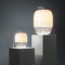Tischlampe / originelles Design / Glas / Innenraum