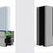 einflügelige Fenstertür / Aluminium / 3-Fach-Verglasung / mit Wärmedämmung