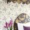moderne Tapete / Blumenmuster / Vlies / bedruckt100/6027 SWEET PEACole&Son