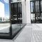 Fassade-Abflussrinne / Stahl / Gitter