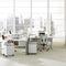 moderner Bürosessel / Netz / mit Rollen / mit Armlehnen