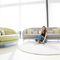 klassisches Sofa / Außenbereich / Stoff / 2 Plätze