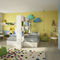 gelbes Kinderzimmer / lackiertes Holz / unisex