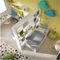 gelbes Kinderzimmer / lackiertes Holz / unisexSMILE 1GIESSEGI