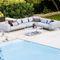 modulierbares Sofa / Skandinavisches Design / für den Garten / AluminiumSPACE : 6540 by Foersom & Hiort-Lorenzen Cane-line A/S