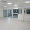 Schiebe-Industrietor / Metall / halbverglast / für Innenbereich