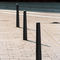 Sicherheits-Sperrpfosten / aus Aluminiumguss / feststehend / abnehmbar