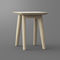 moderner Hocker / Massivholz