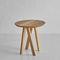 Design-Couchtisch / aus Eiche / aus Nussbaum / Massivholz