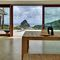 Hebe-Schiebe-Terrassentür / Holz / Aluminium / Doppelverglasung S.15 Panda Windows & Doors