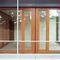 Terrassentür zum Schieben / Holz / Doppelverglasung / Sicherheit GERMAN EMBASSY Accsys Technologies