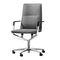 Moderner Sessel für Büro / Stoff / Leder / Aluminium SOLA by Justus Kolberg Wilkhahn