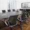 Moderner Sessel für Büro / Stoff / Leder / mit Rollen MODUS MEDIUM by K.Franck, W.Sauer, Wiege,F.Frenkler,J.K Wilkhahn
