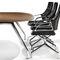 moderner Bürostuhl / mit Rollen / mit Armlehnen / sternförmiger Fuß