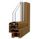 Drehfenster / aus PVC / Doppelverglasung / Schallschutz