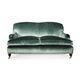 Stil-Sofa / für Empfangsbereich / Samt / Gewerbe
