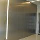 Innentür / für begehbaren Schrank / einflügelig / Aluminium
