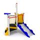 PEHD-Spielplatzgerät / Edelstahl / verzinkter Stahl / für Spielplätze