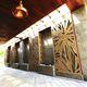 Wandmontage-Dekorpaneel / für Außenausbau / aus Naturstein / strukturiert