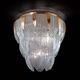 klassische Deckenleuchte / aus Muranoglas / LED / Glühlampen