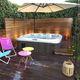 tragbares Hot-Tub / rechteckig / 6 Plätze / 5 Plätze