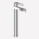 Waschtisch-Einhebelmischer / verchromtes Metall / für Badezimmer / 1-Loch