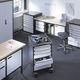 Metall-Büroschubladenschrank / 5-Schubladen / Rollen