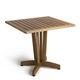 Standardtisch / Holz / quadratisch / für öffentliche Einrichtungen